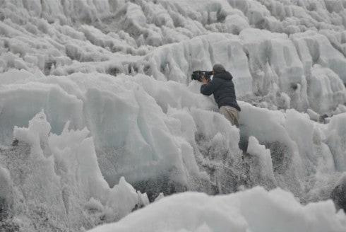 dee on glacier filming copy 3
