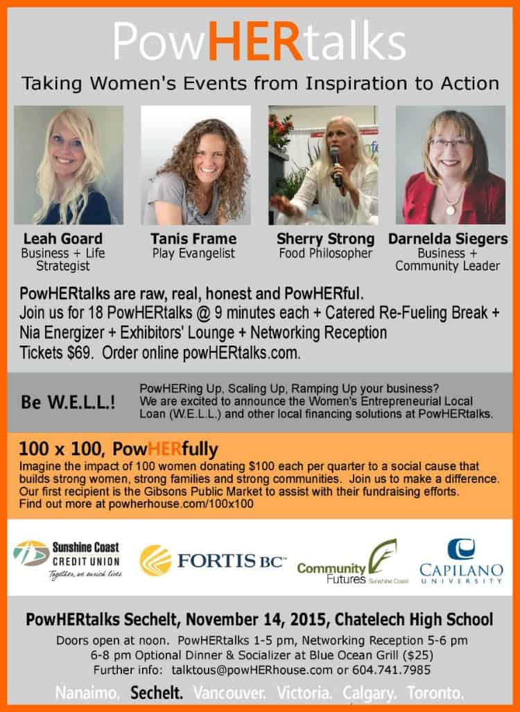 PowHERtalks Sechelt | Press Release