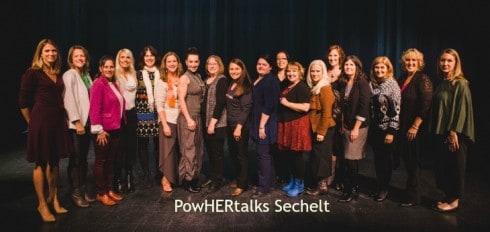Powhertalks Sechelt   PowHERhouse
