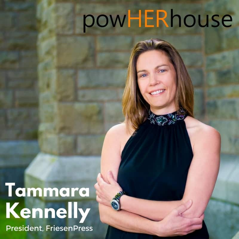 Fall Cover Announcement |  Tammara Kennelly, President, Friesen Press