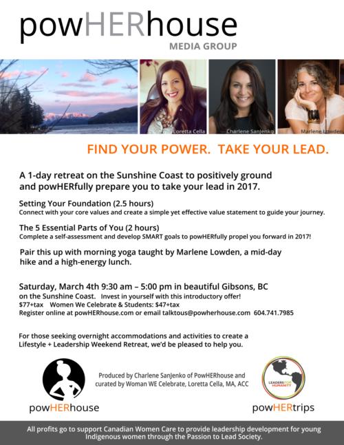 1-Day Lifestyle + Leadership Retreat