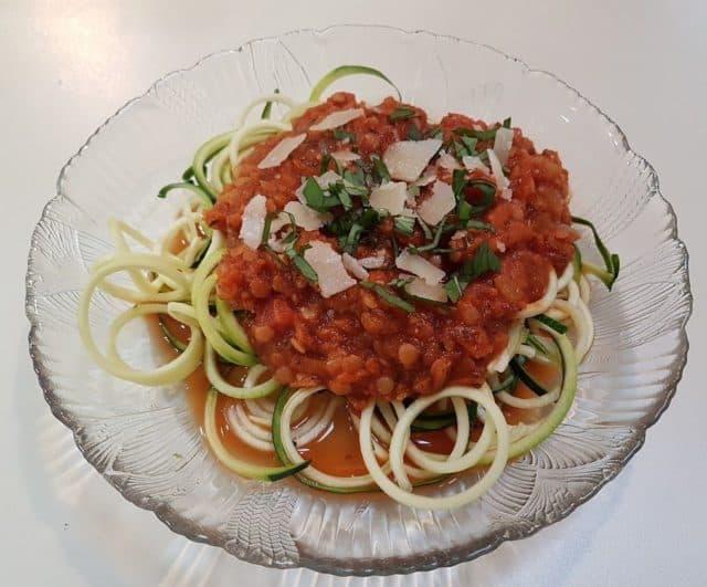 tomato lentil marinara | Fuel Me
