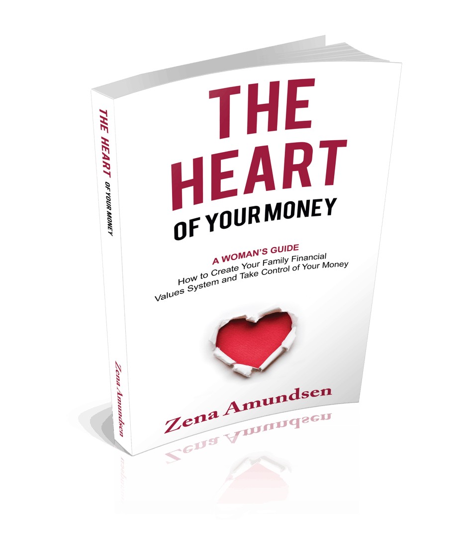 PowHERreads   The Heart of Your Money by Zena Amundsen
