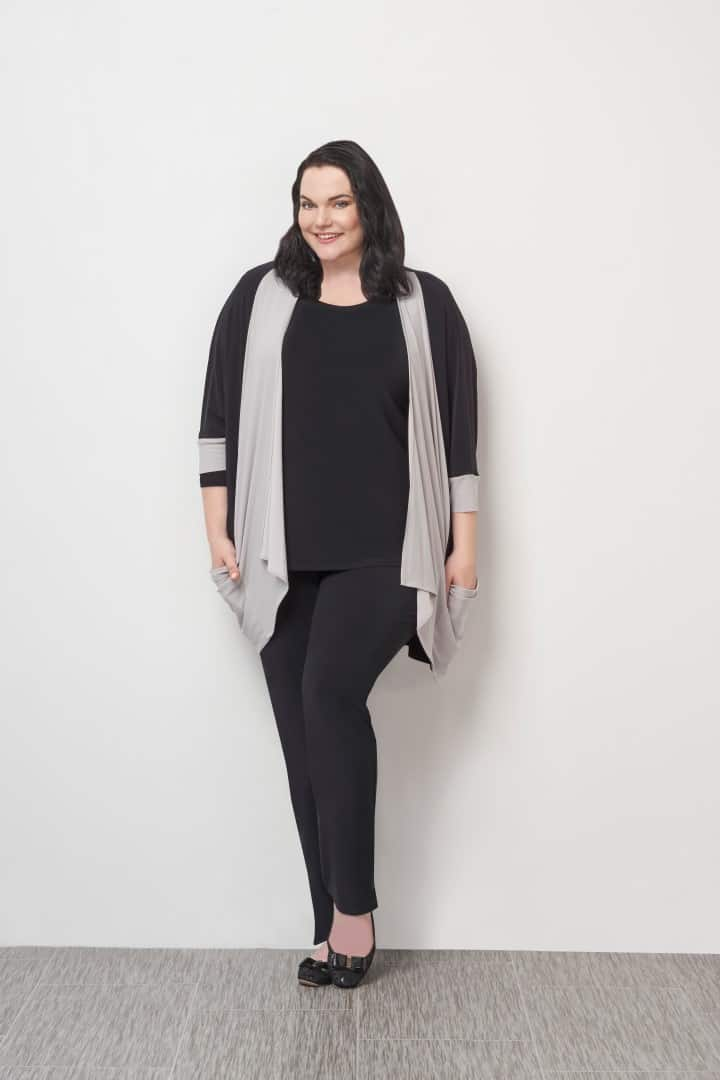 25106CB Matrix Box Cardi, 22110R-2 Go To Classic T Relax, 2748M Narrow Pant Midi (Large)