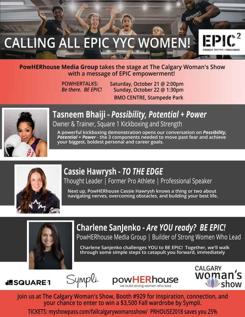 PowHERtalks @ The Calgary Woman's Show