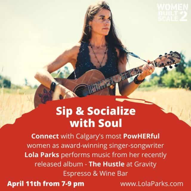 Sip & Socialize with Soul - Lola Parks (Large)
