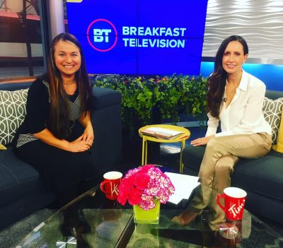 Char on Breakfast Television