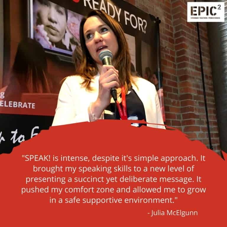 SPEAK Testimonial - Julia McElgunn (Medium)
