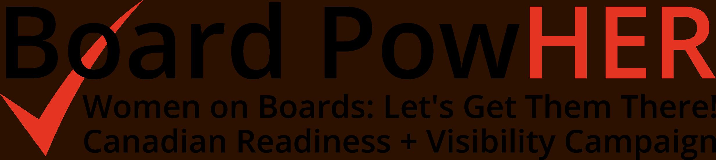 Board PowHER logo