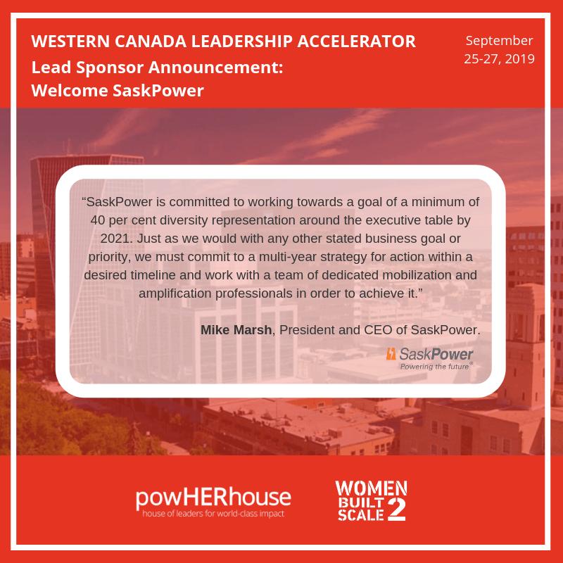 Western Canada Leadership Accelerator | WOMEN BUILT2SCALE