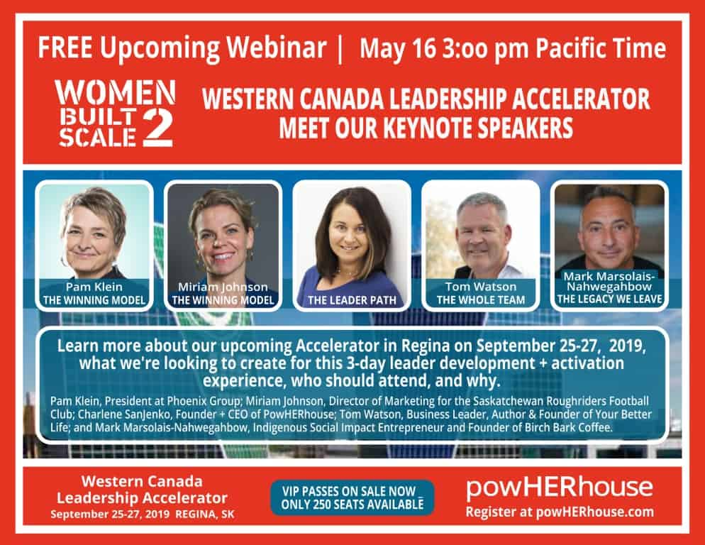 May 16 WEBINAR | Western Canada Leadership Accelerator