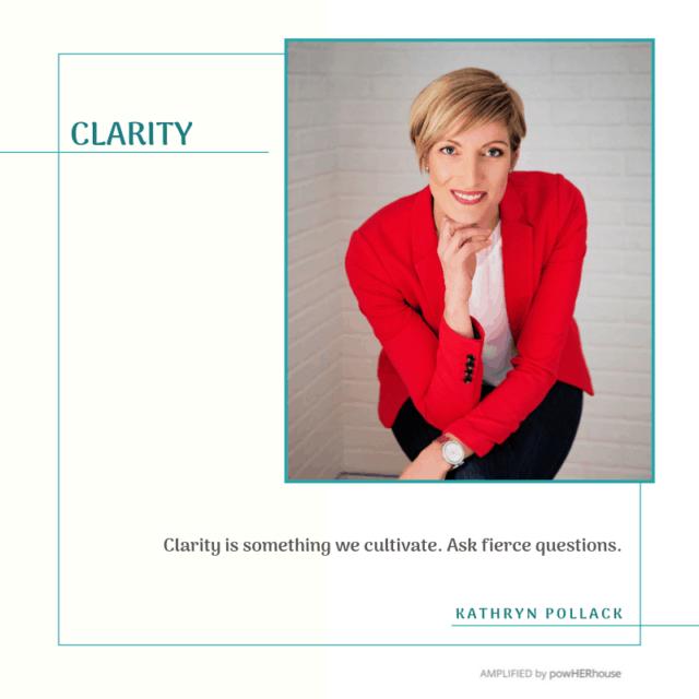 Kathryn Pollack - CLARITY