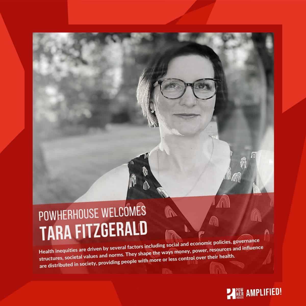 Powherhouse welcomes - Tara F