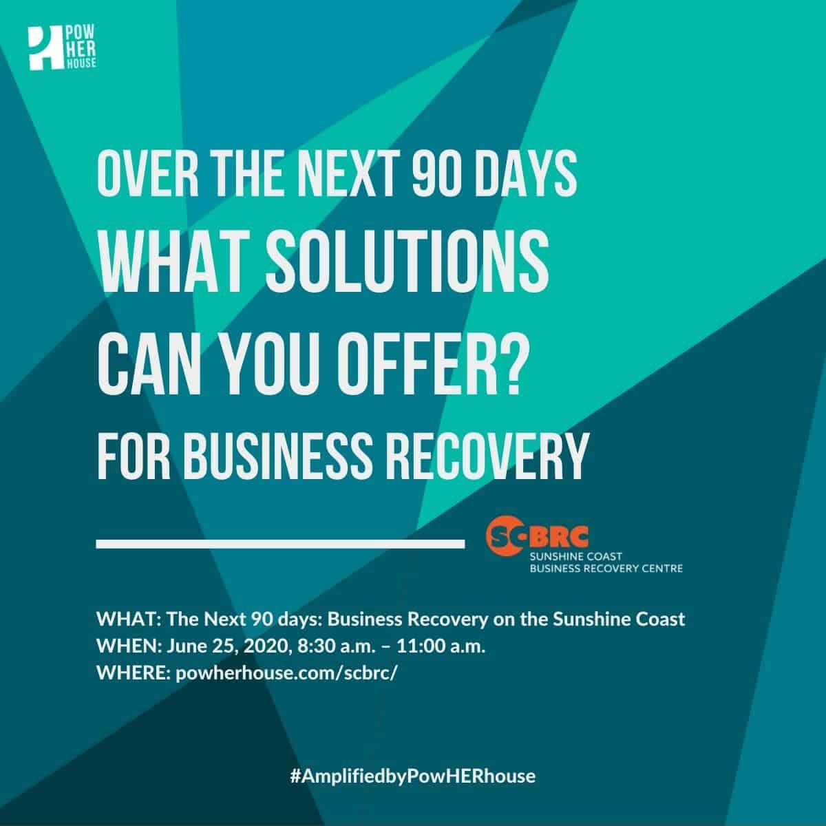 SC Business Forum - solutions