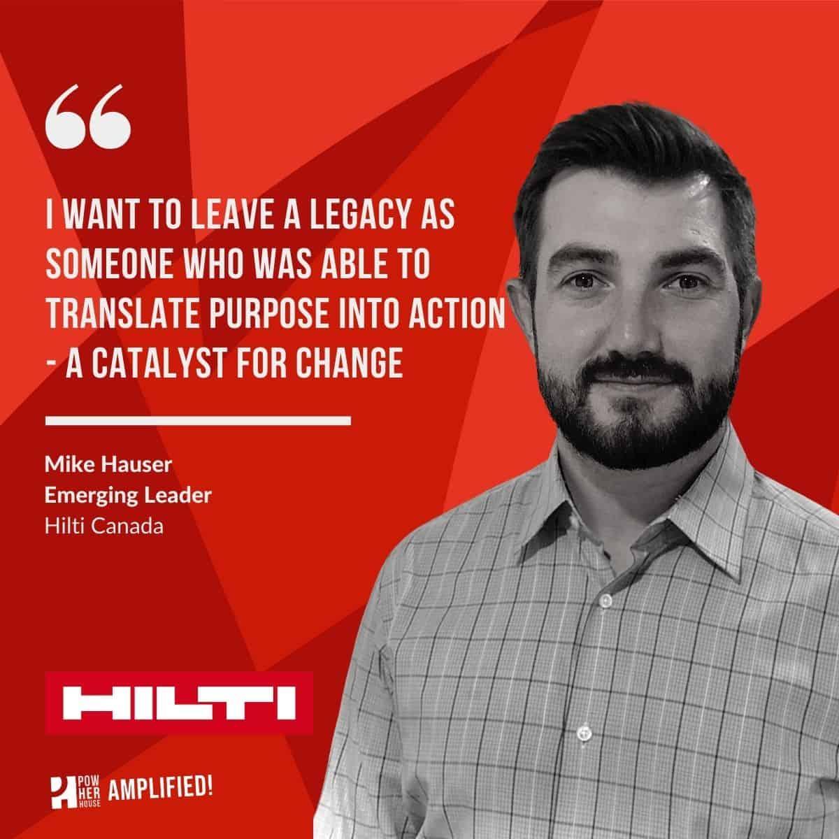 Hilti profile - Mike