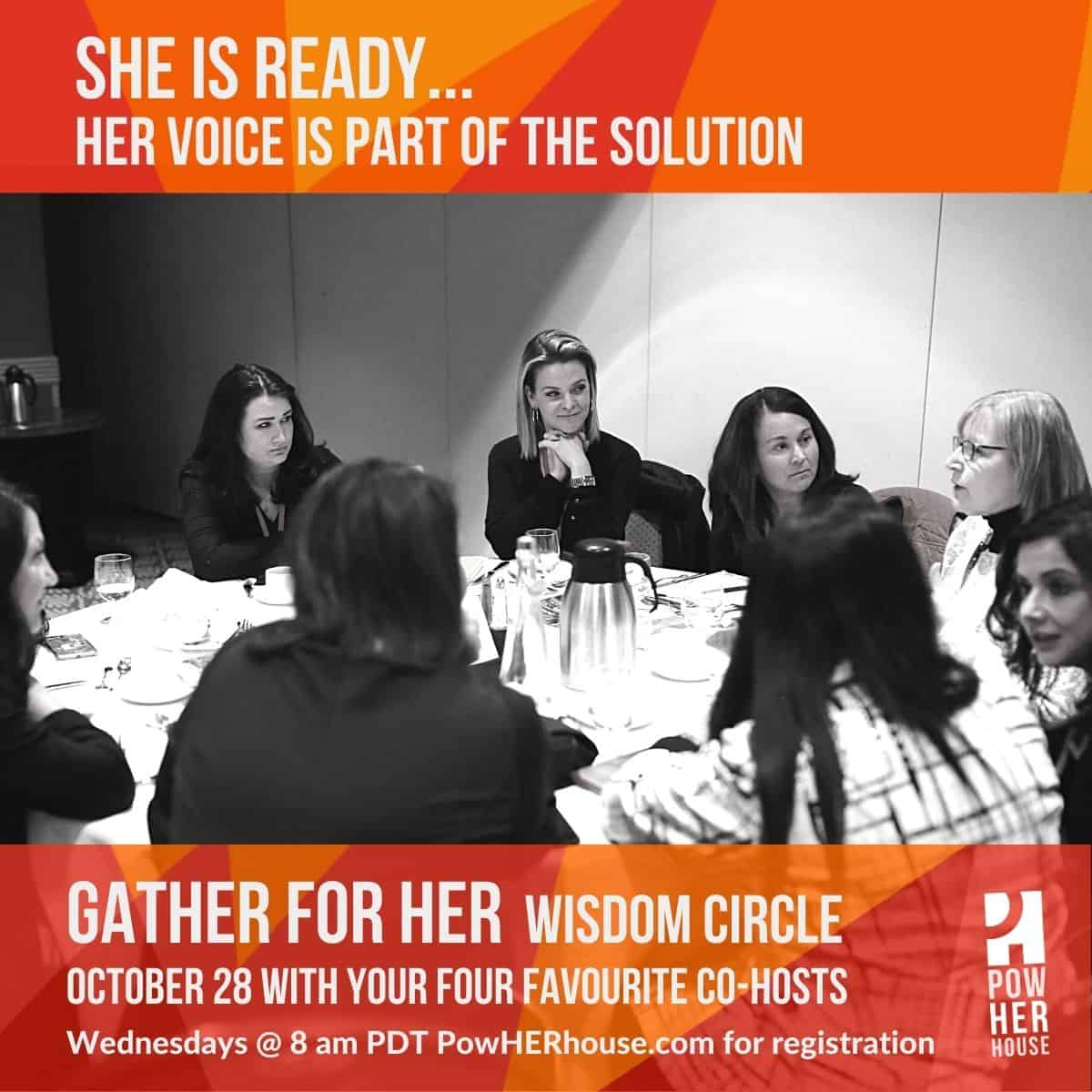 GATHER Wisdom Circle Announcement - October 28th