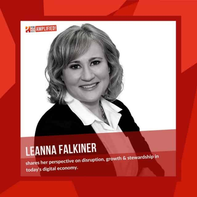 Leanna Falkiner on Disruption Growth and Stewardship in Today's Economy