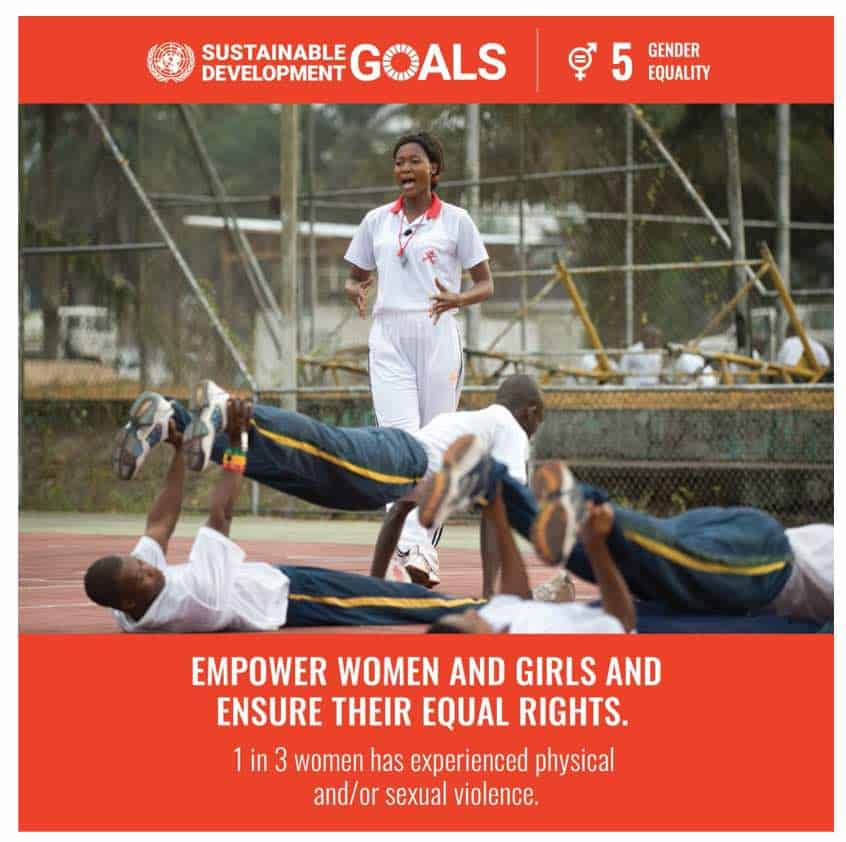 UN GOAL - Gender Equility