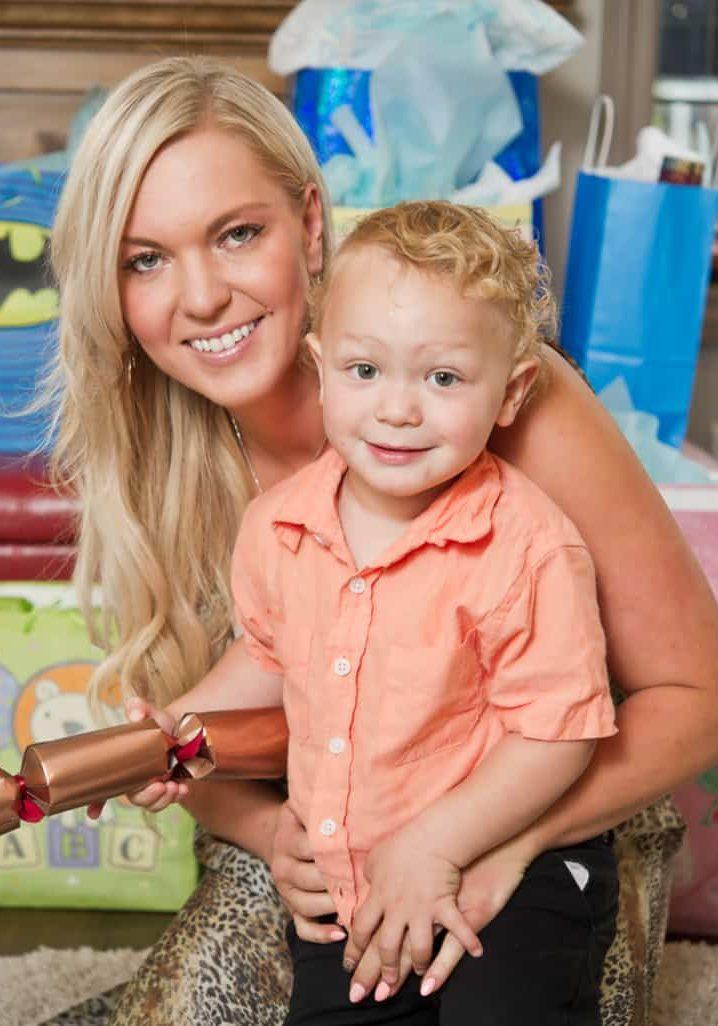 Kayla and son - resized